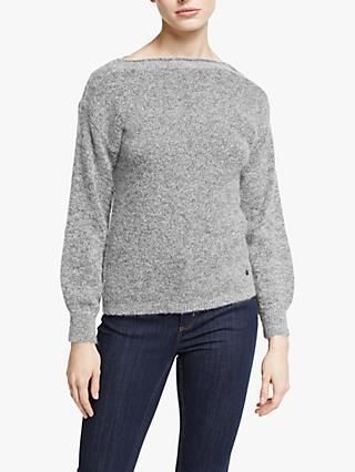 Numph Merilyn Boat Neck Pullover