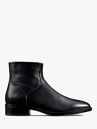 Clarks Pure Rosa Ankle Boots