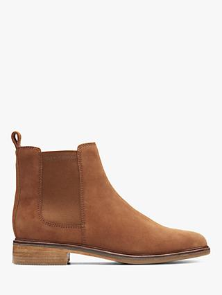 Clarks Clarkdale Arlo Suede Ankle Boots
