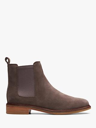 Clarks Clarkdale Arlo Suede Chelsea Ankle Boots
