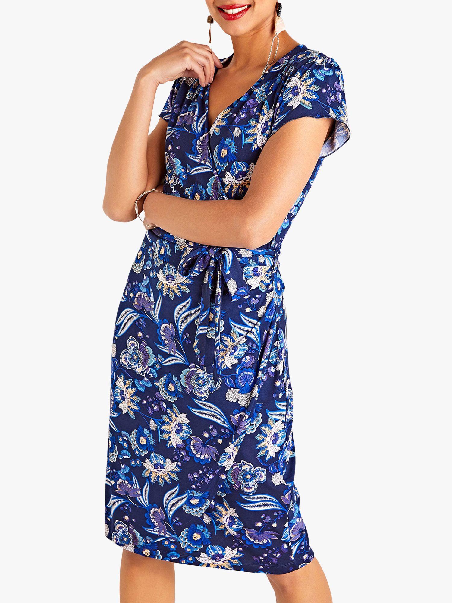 Yumi Yumi Vibrant Dress, Navy