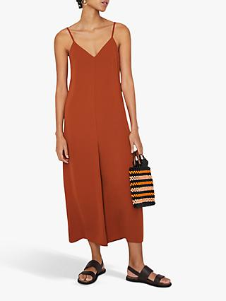 Warehouse Cami Culotte Jumpsuit