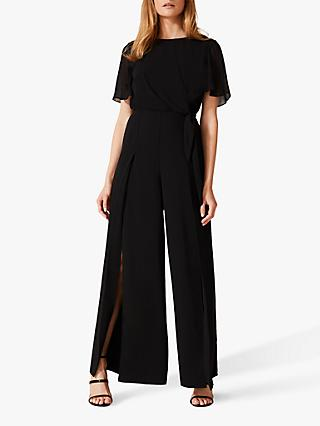 Phase Eight Johanna Wide Leg Jumpsuit, Black