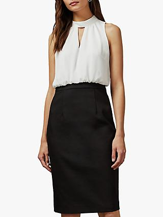 Ted Baker Naimeyd Halter Neck Pencil Dress, Black