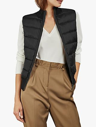 Ted Baker Lyydia Quilted Gilet, Black