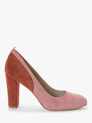 Boden Cathy Suede Colour Block Court Shoes