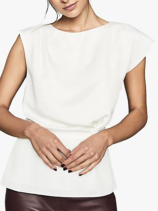 Reiss Dani Cap Sleeve Top