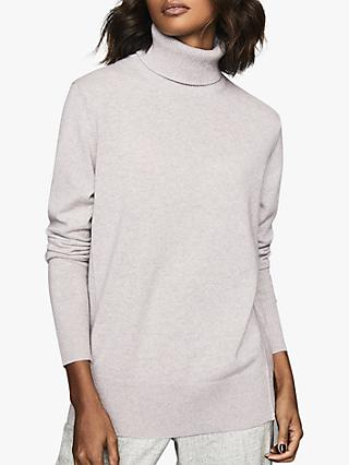 Reiss Clio Cashmere Roll Neck Jumper