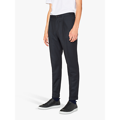 PS Paul Smith Turn Up Trousers, Navy