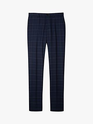 Paul Smith Check Suit Trousers, Blue