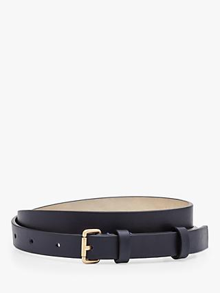 Boden Skinny Leather Belt