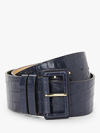 Boden Wide Leather Belt
