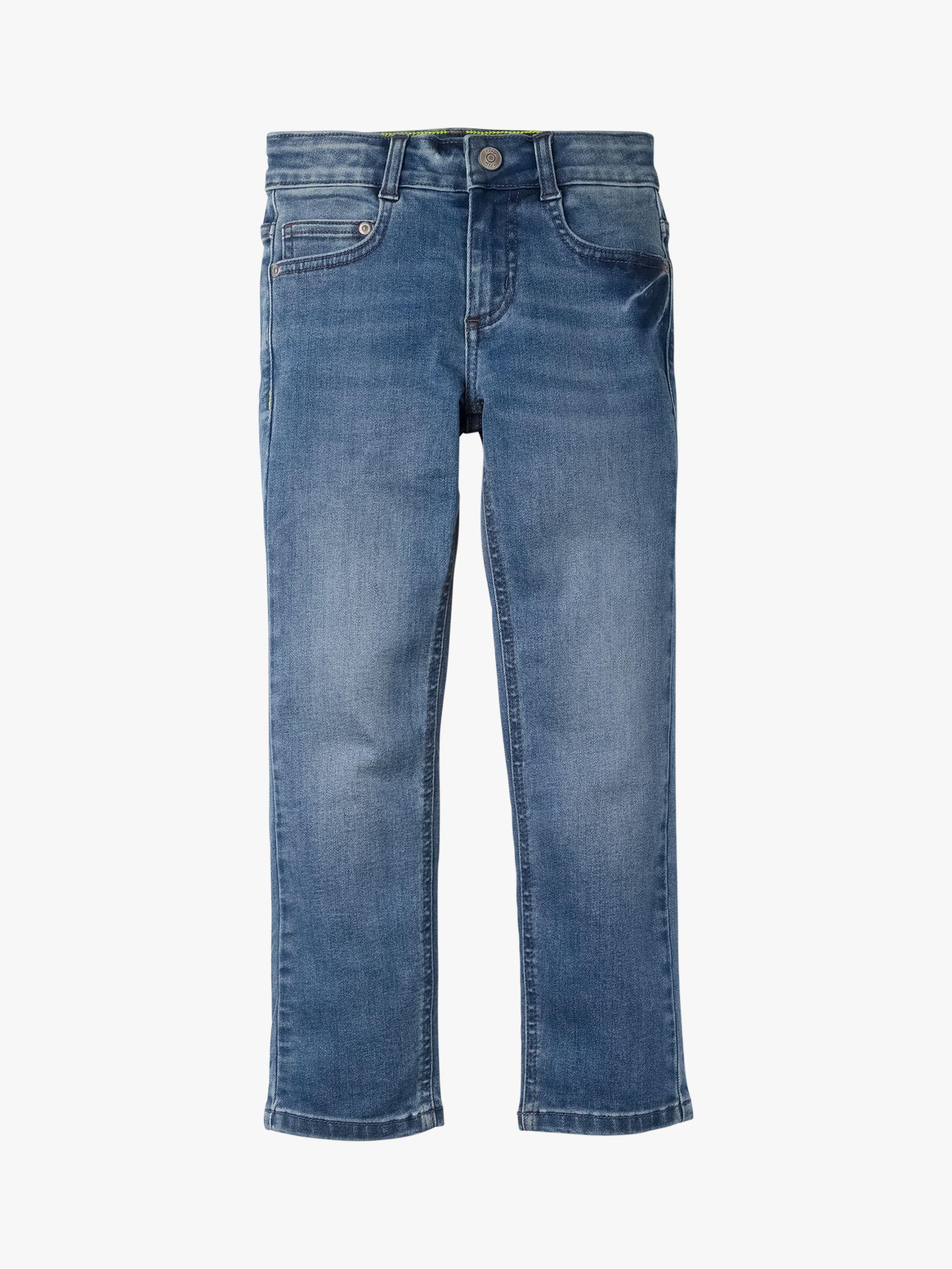Mini Boden Mini Boden Boys' Adventure Flex Slim Fit Jeans, Mid Vintage Blue