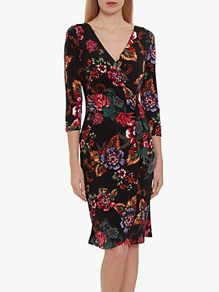 Gina Bacconi Cloris Floral Dress, Multi