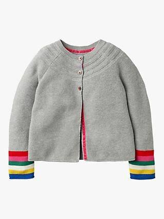 Mini Boden Girls' Everyday Stripe Cardigan