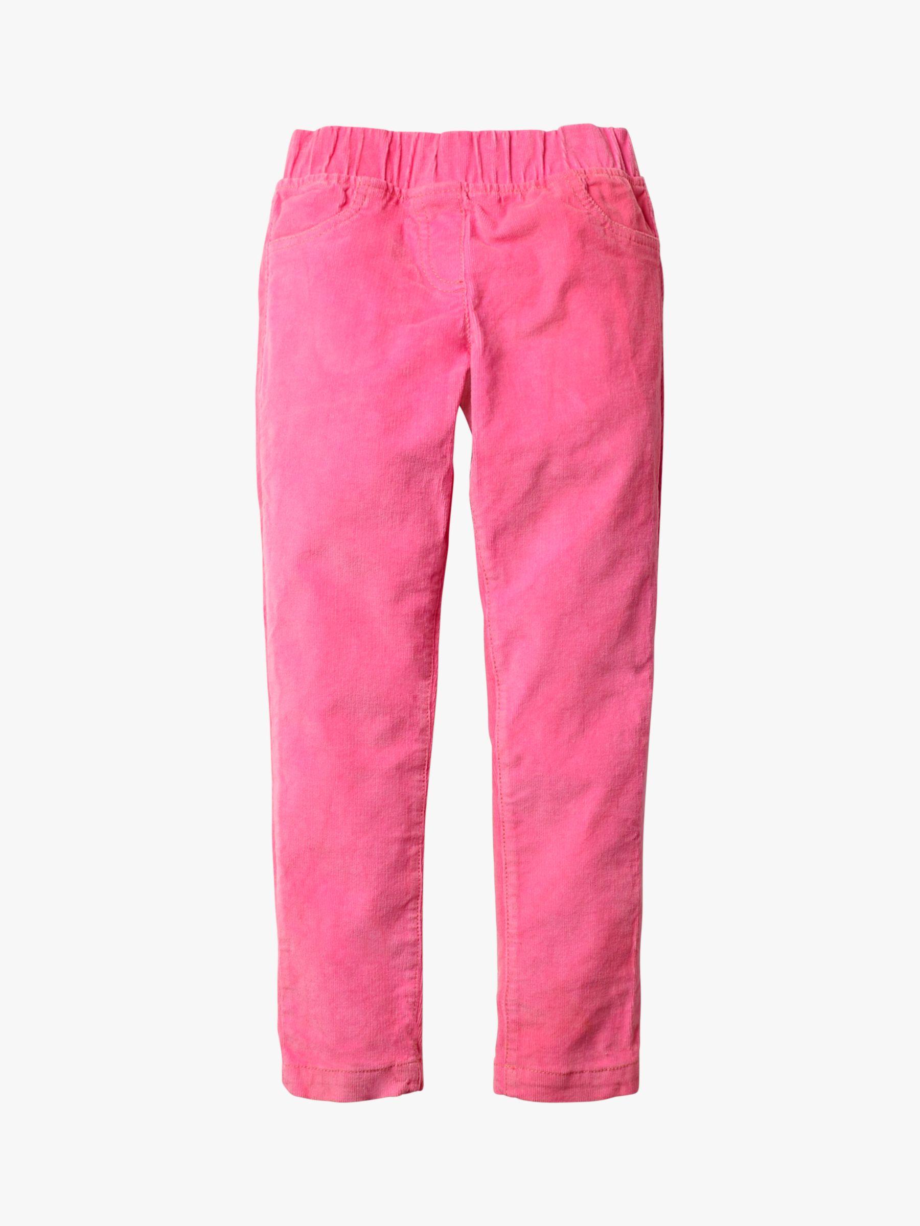 Mini Boden Mini Boden Girls' Corduroy Leggings, Pink Sorbet