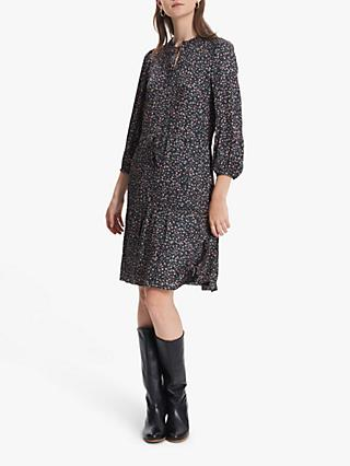 Gerard Darel Dixie Floral Dress, Black