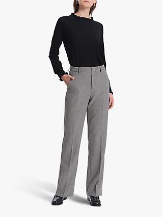 Gerard Darel Lucile Trouser, Black/White