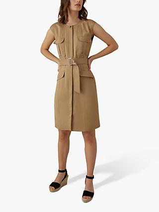 Karen Millen Utility Dress, Camel