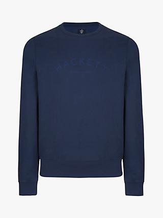 Hackett London Branded Crew Neck Sweatshirt