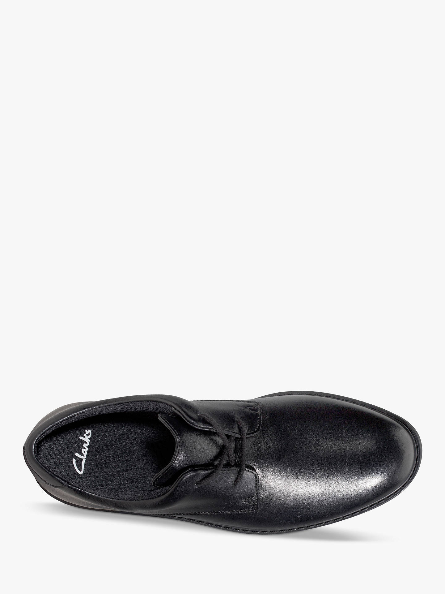 Buy Clarks Children's Scala Loop Youth Shoes, Black, 7.5F Online at johnlewis.com