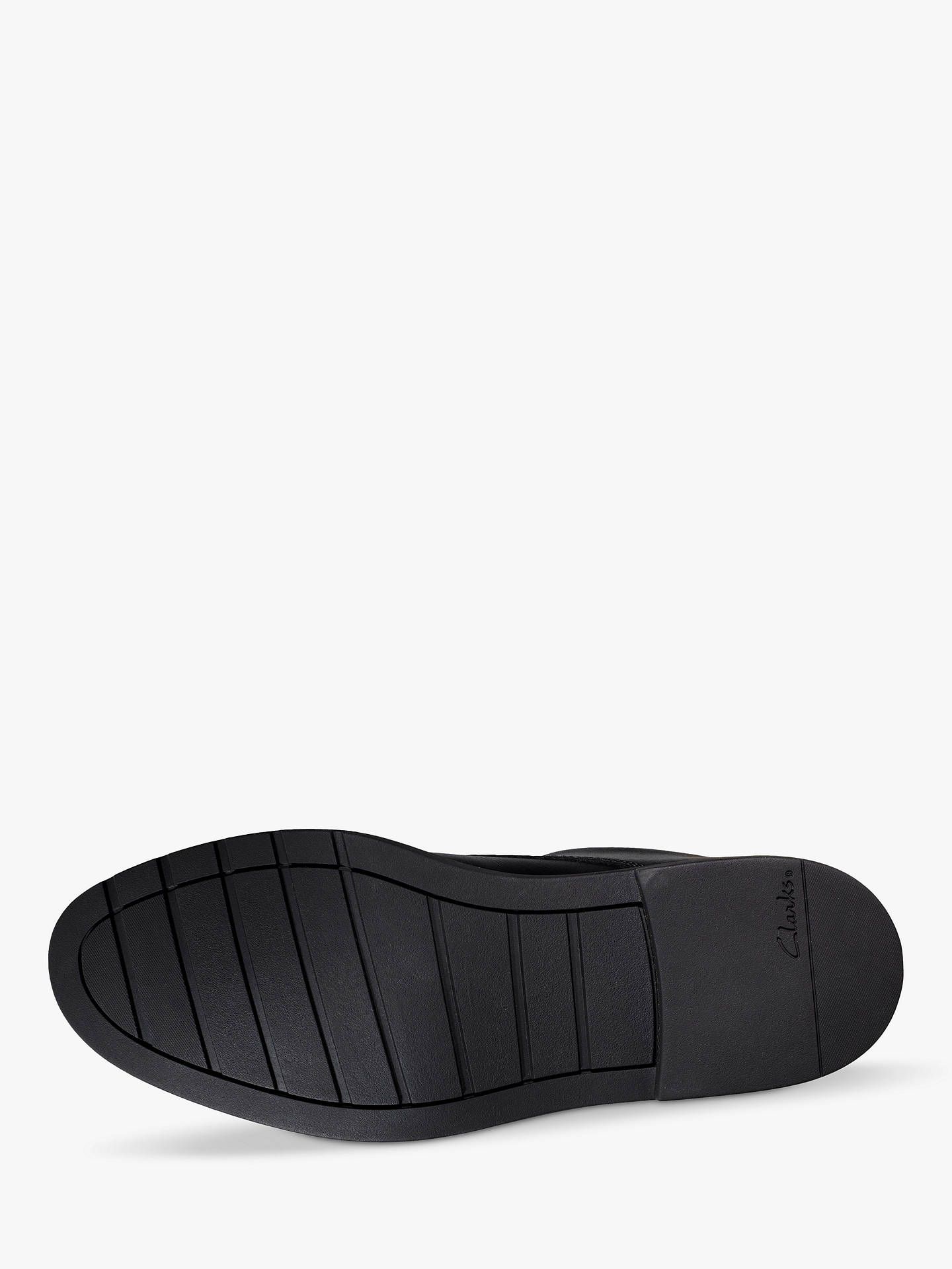 Buy Clarks Children's Scala Loop Youth Shoes, Black, 3.5G Online at johnlewis.com
