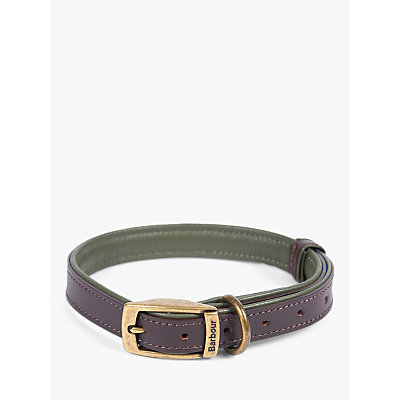 Image of Barbour Leather Dog Collar