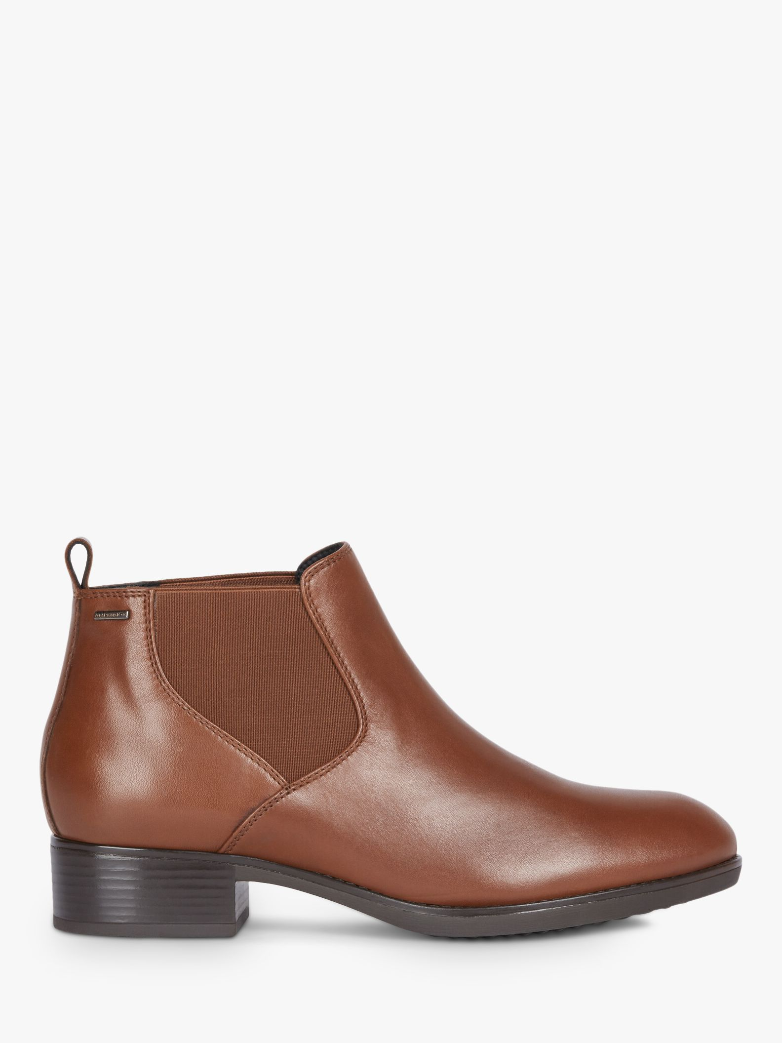 Geox Geox Women's Felicity Leather Chelsea Boots, Brown