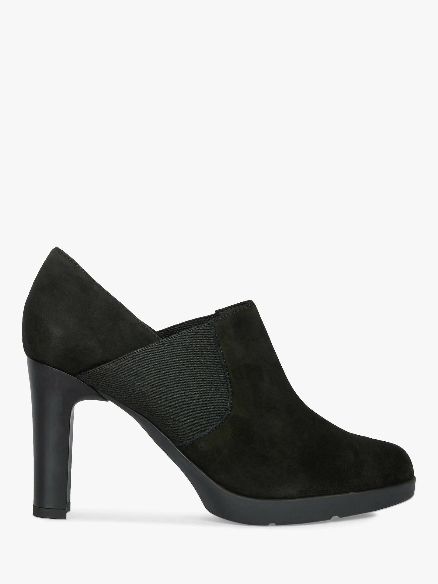 info pour 89b9c fe09e Geox Women's Annya Block Heeled Shoe Boots, Black