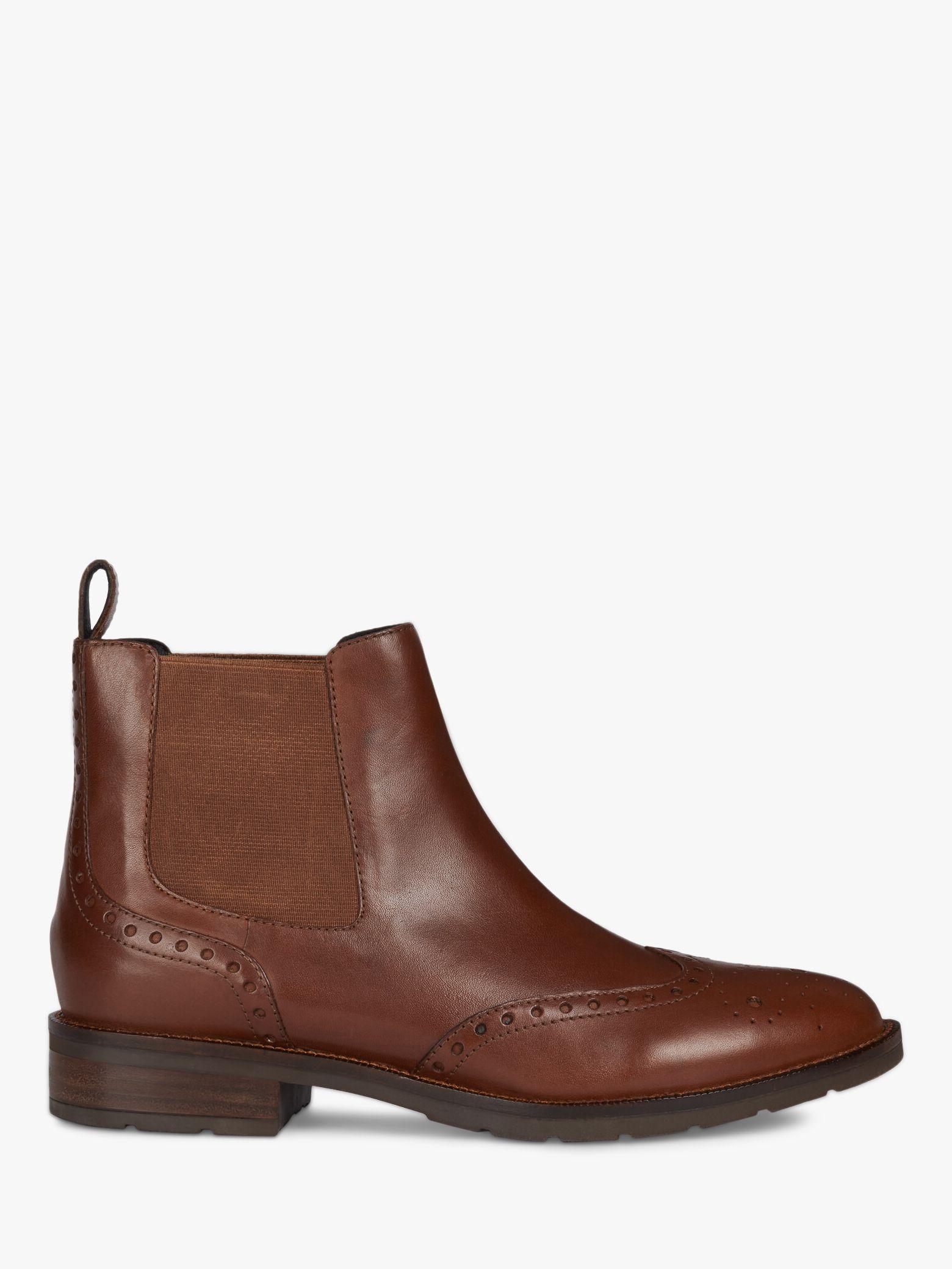 Geox Geox Women's Bettanie Leather Chelsea Ankle Boots