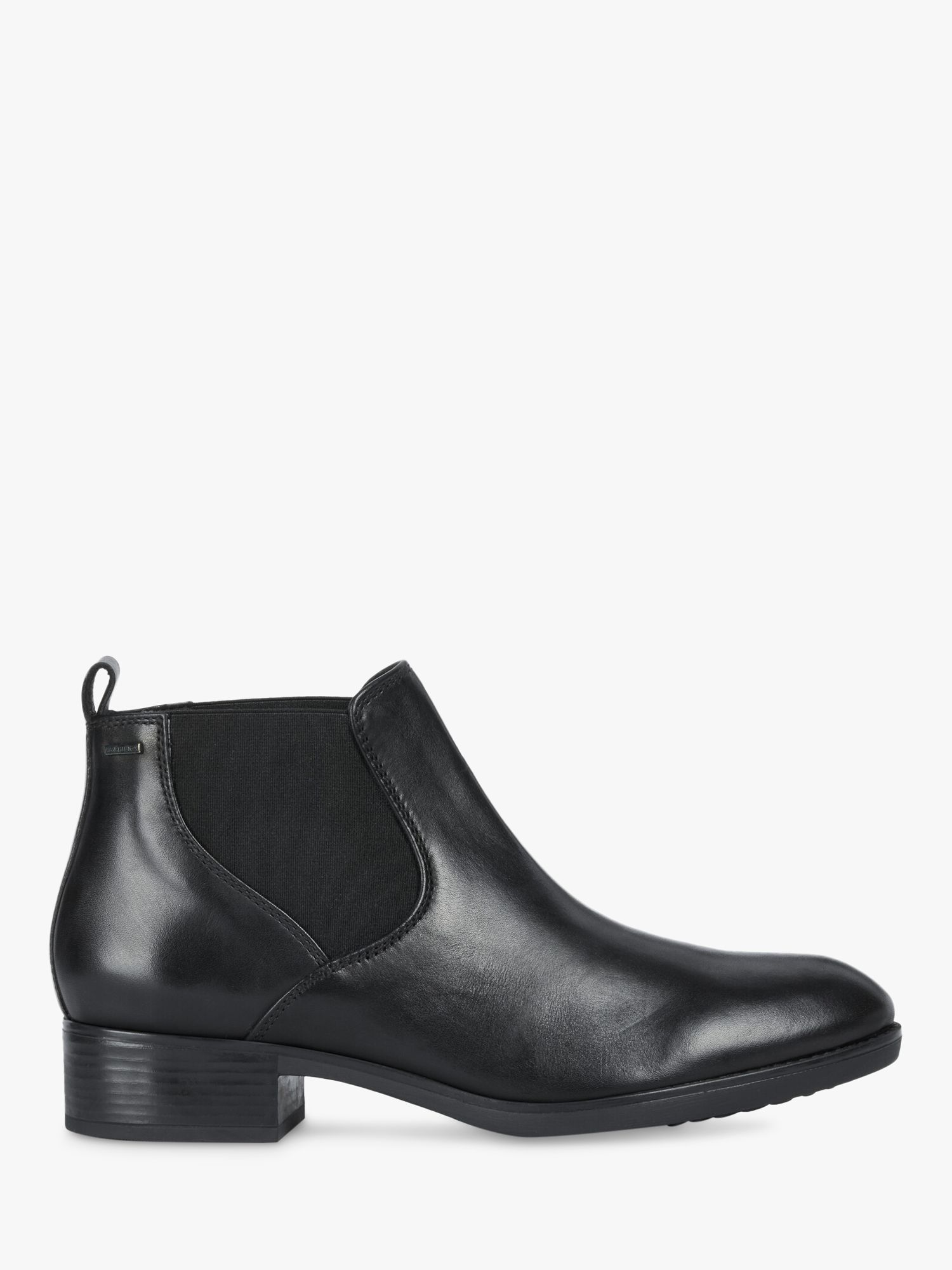 Geox Geox Women's Felicity Leather Chelsea Boots, Black