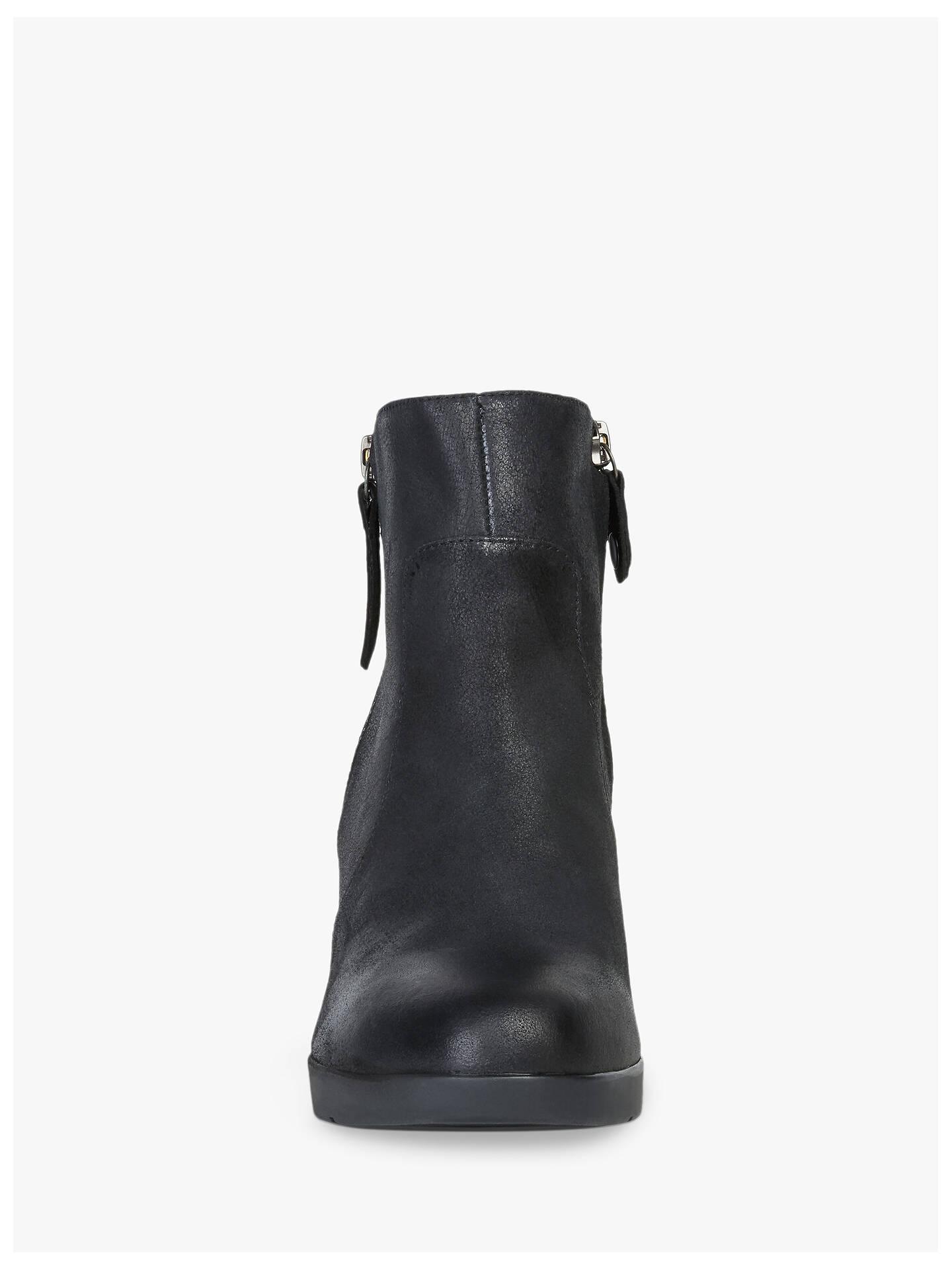 Geox Women's Aneeka Ankle Boots, Black