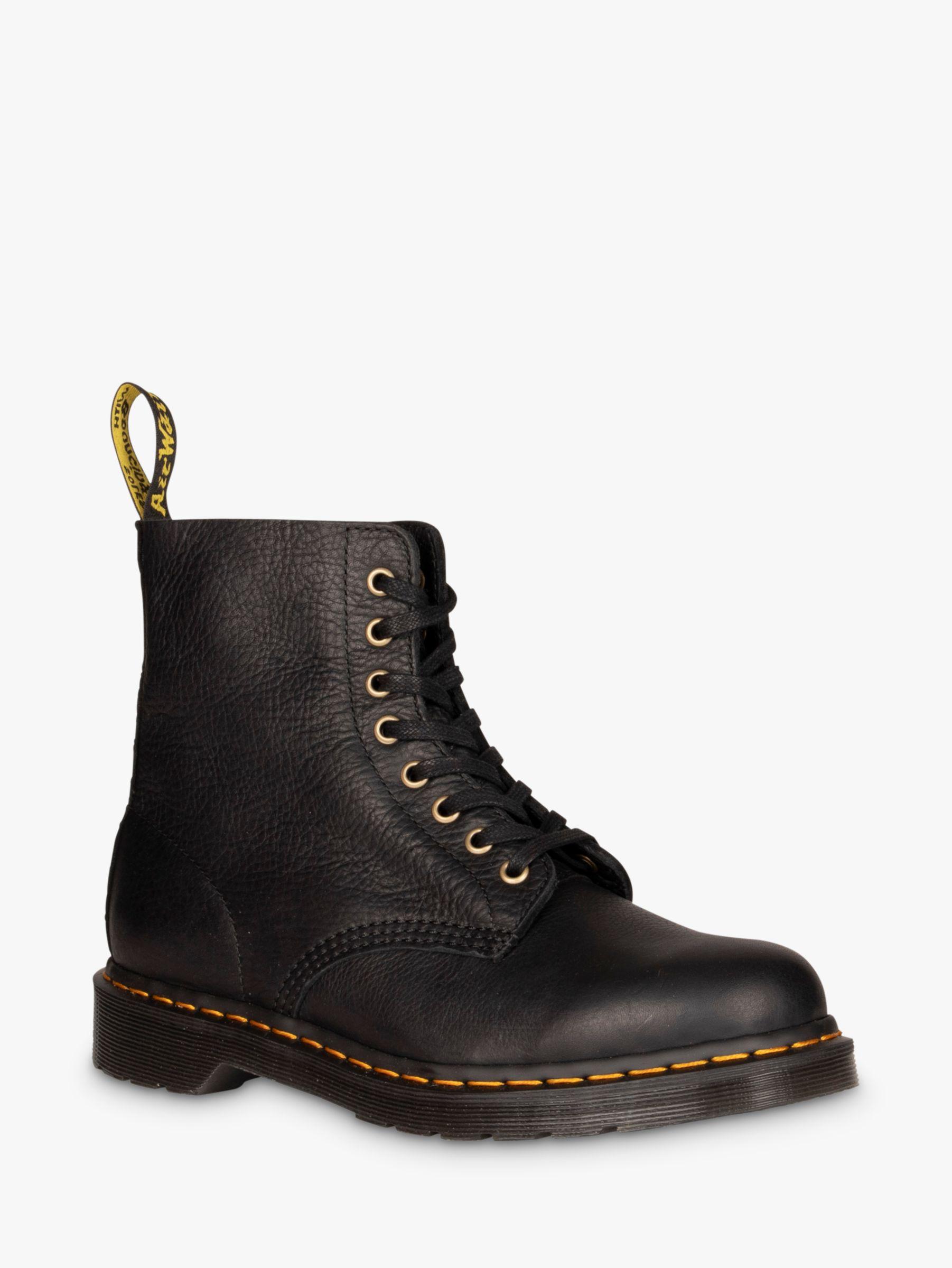Dr Martens Dr Martens 1460 Pascal Leather Boots, Black Ambassador