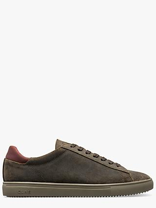 CLAE Bradley Waxed Leather Trainers, Hiking Green