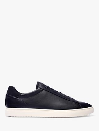 CLAE Bradley Essentials Leather Trainers, Black
