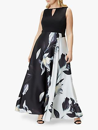 Coast Curve Fabien Floral Print Maxi Dress, Multi