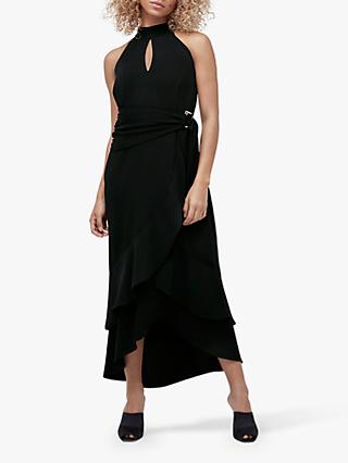 Coast D-Ring Halterneck Dress, Black