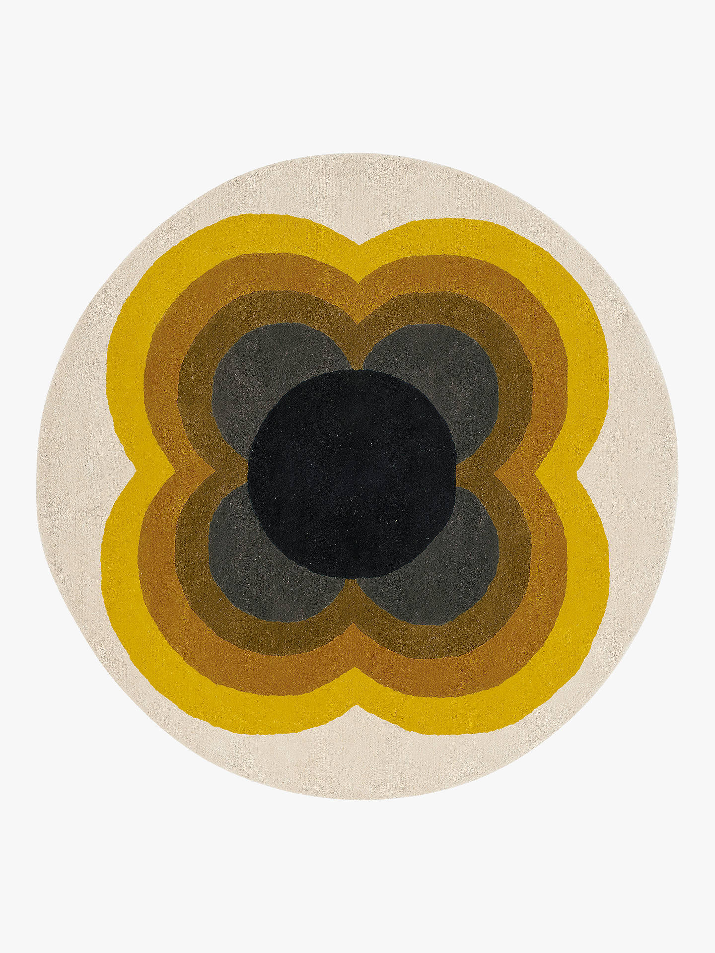 Orla Kiely Striped Petal Round Rug Dia