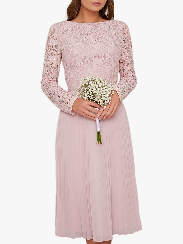 Chi Chi London Chi Chi London Carlen Lace Dress, Pink