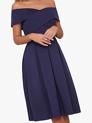 Chi Chi London Bay Dress, Navy