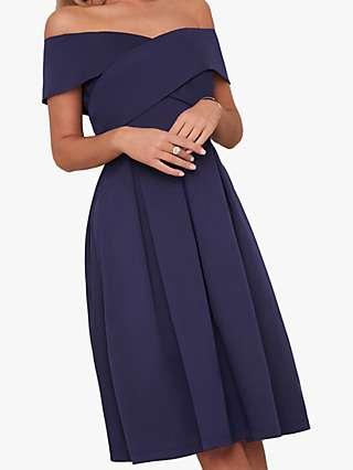 Chi Chi London Bay Dress, Navy