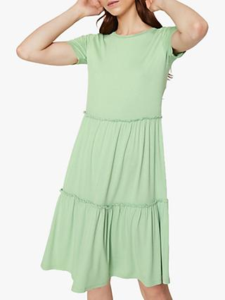 Warehouse Tiered T-Shirt Dress