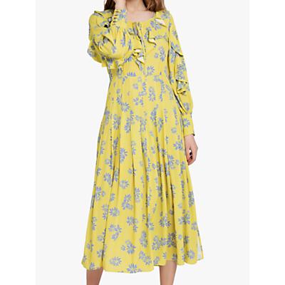 Ghost Lottie Dress, Yellow/Multi