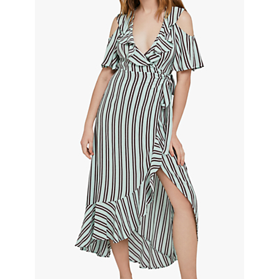 Ghost Lydia Stripe Dress, Pepper