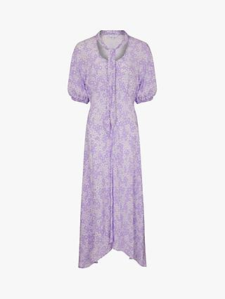 Ghost Alma Dress, Purple