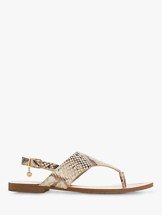 Dune Ladley Leather Flat Sandals