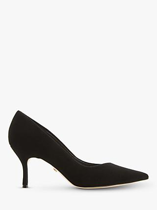 Dune Andres Suede Stilleto Heel Court Shoes