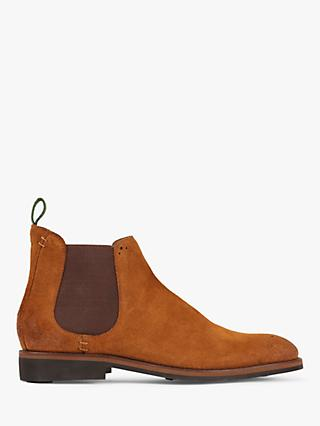 Oliver Sweeney Burrows Suede Chelsea Boots, Whiskey
