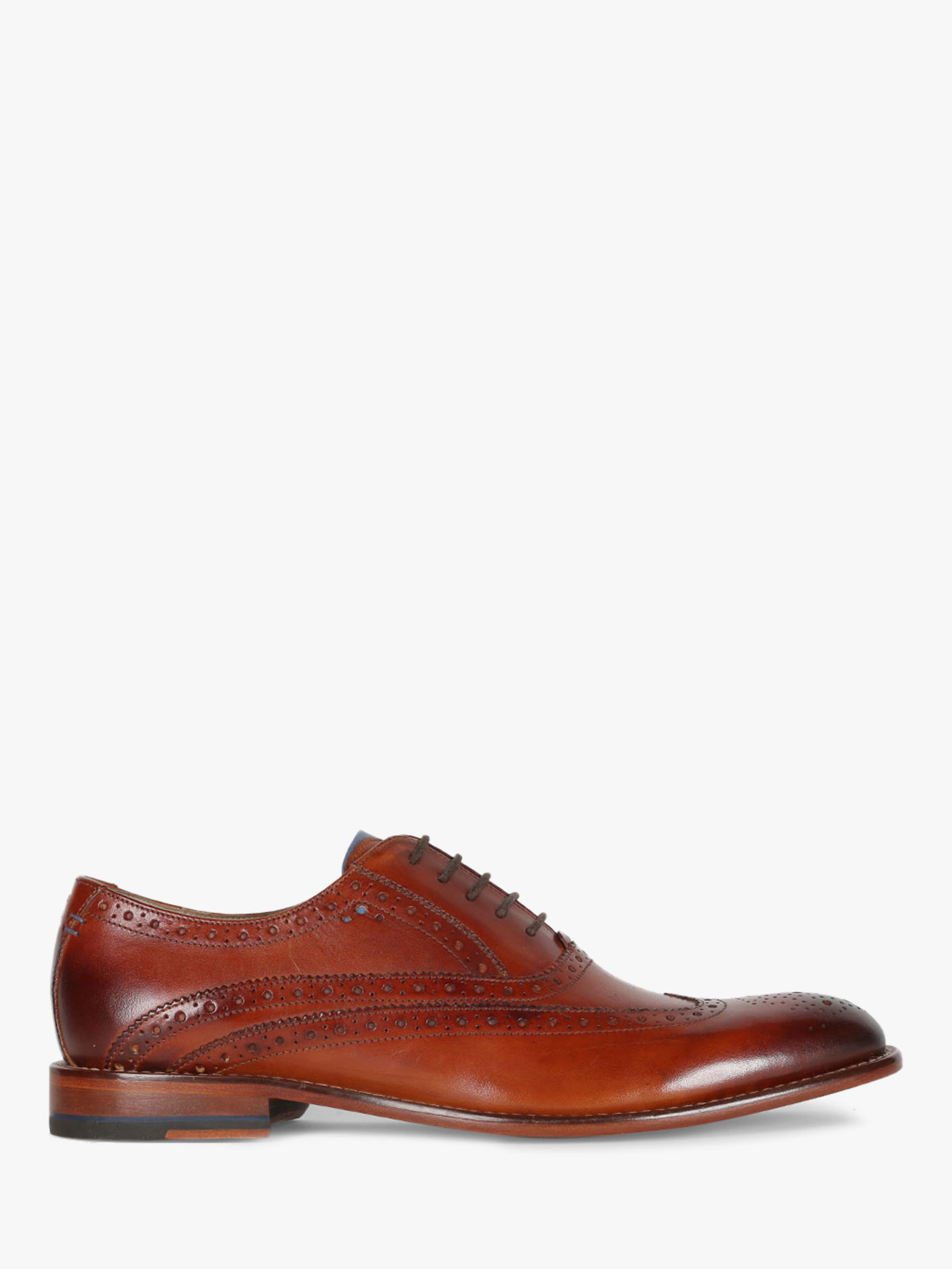 Oliver Sweeney Oliver Sweeney Fellbeck Leather Brogues, Chestnut