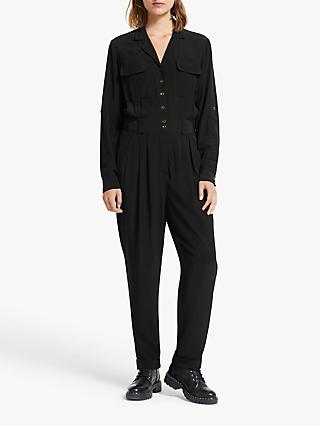 Somerset by Alice Temperley Solid Boiler Suit, Black